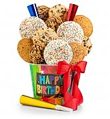 Cookie Gift Baskets: Happy Birthday Cookie Pail