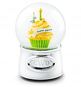 Personalized Keepsake Gifts: Happy Birthday Waterglobe