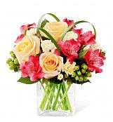 Flower Bouquets: All Aglow Bouquet
