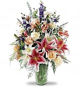 Flower Bouquets: Star Gazer Bouquet