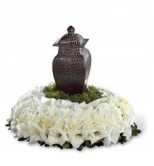 Funeral Flowers: Encircling Grace Arrangement