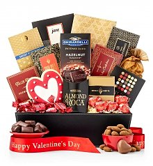 Chocolate & Sweet Baskets: Valentine's Day Heart's Delight Gourmet