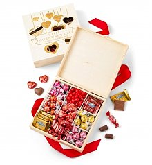 Chocolate & Sweet Baskets: Personalized Valentine's Day Chocolate Box