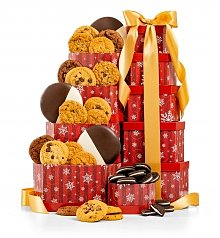 Gift Towers: The Best Holiday Cookie Tower