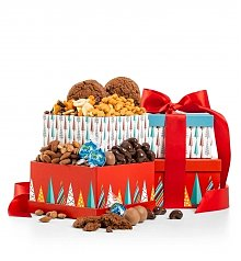 Gift Towers: Merry & Bright Chocolate Duo